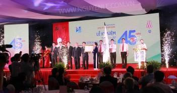 Lễ kỷ niệm 45 năm ngày thành lập và đón nhận huân chương độc lập hạng nhất của Viện vật liệu xây dựng - Bộ xây dựng (4/11/1969 – 4/11/2014)